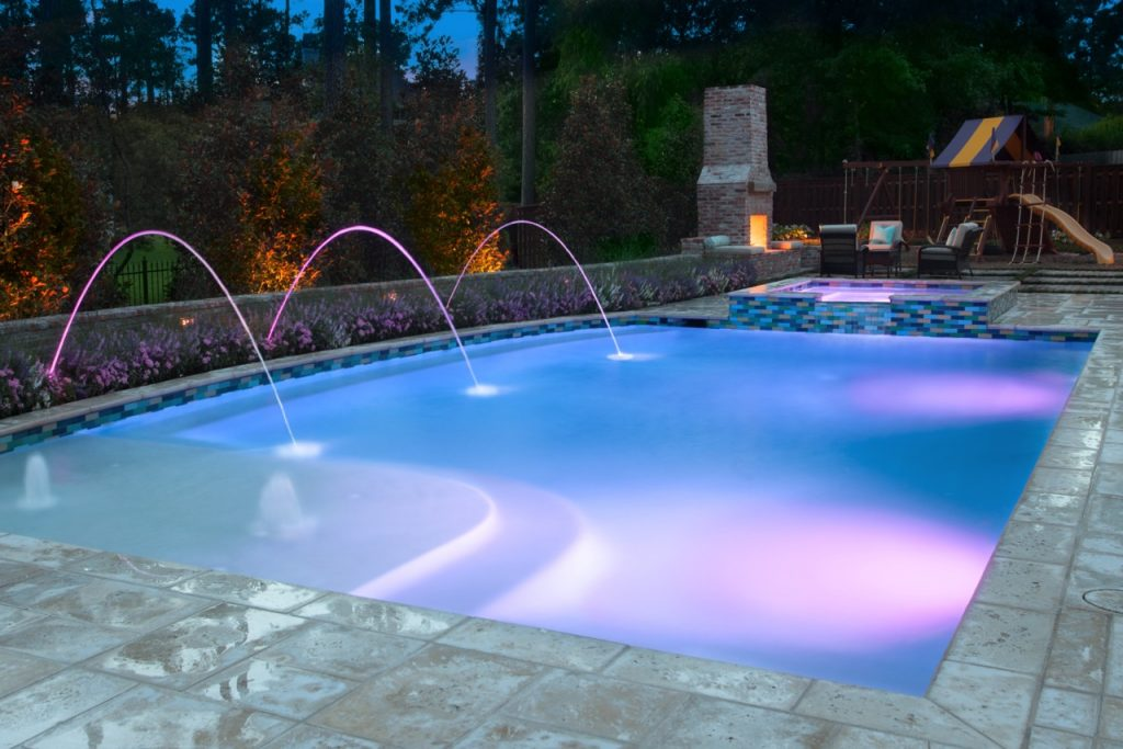 Luxury Pool Northern VA Fairfax County - Remodeling Example