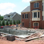 Laying Pool Foundation