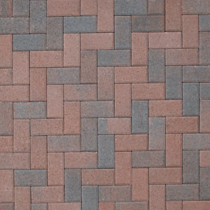 Red brick patio completed in northern Va