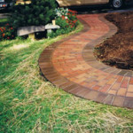 Garden Walkway in Loudoun County