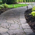 Beautiful Irregular Stone Walkway Northern Va