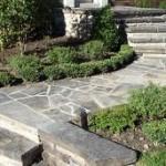 Nice Stone Walkway and Steps