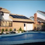 Keep your pool covered while using solar to be even more energy efficient